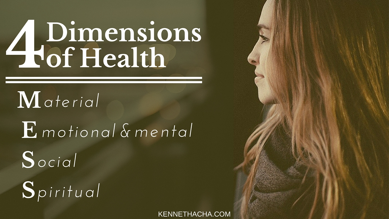 Four Dimensions of Health