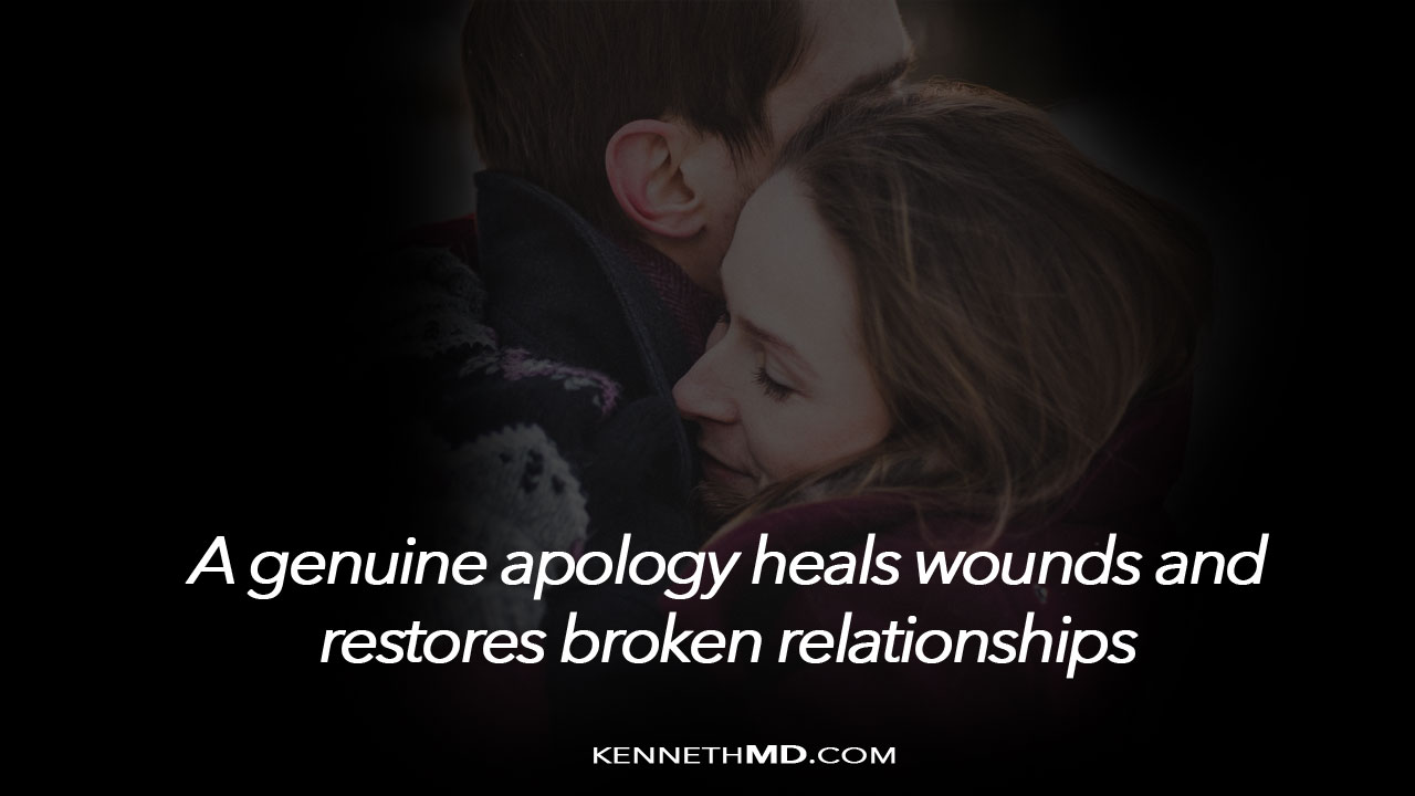 how to apologize well