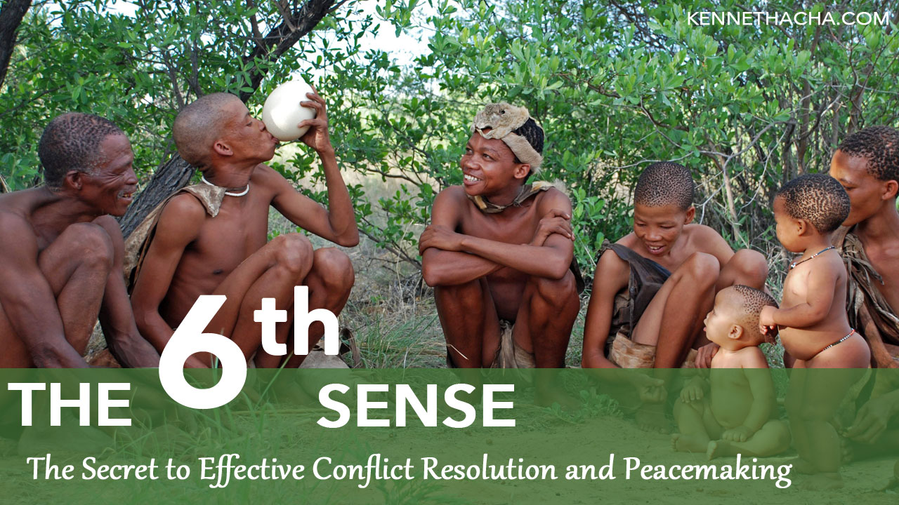 The secret to effective conflict resolution and peacemaking