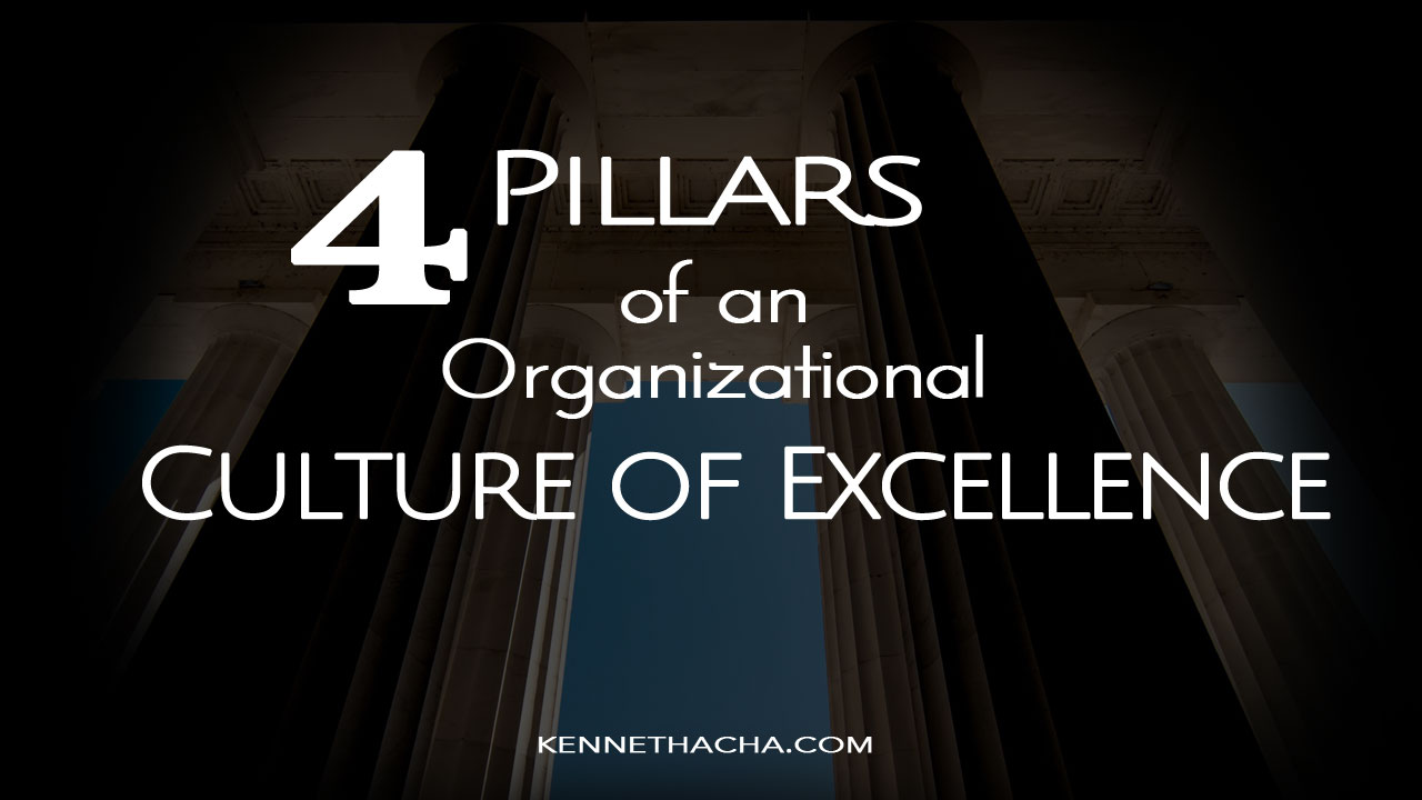 An organizational culture of excellence